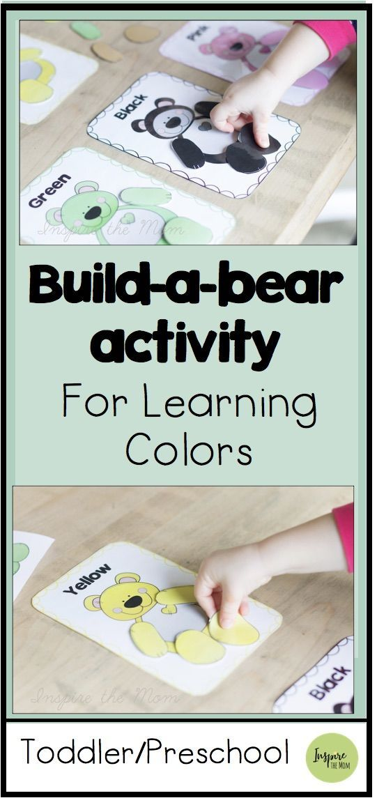 Build-a-Bear for Learning Colors –  # Check more at trage.zeitpin.sit…