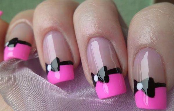 Ver diseños de uñas de manos, ver diseños uñas de pajarita.  Join to CLUB! #uñasbonitas #acrylicnails #uñassencillas