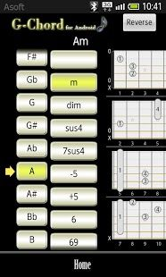 GChord  (Guitar Chord Finder)