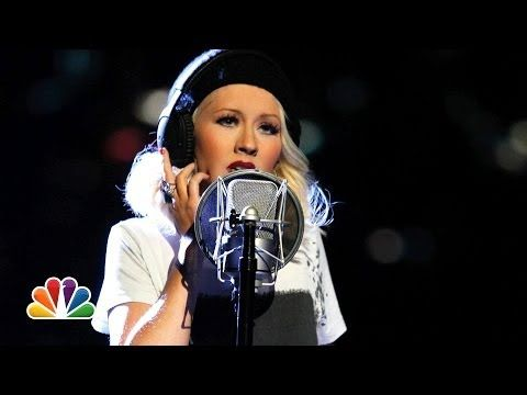 """▶ Christina Aguilera and A Great Big World: """"Say Something"""" - The Voice Highlight - YouTube"""