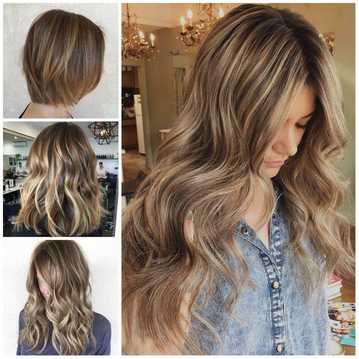 Highlights Für Braune Haare