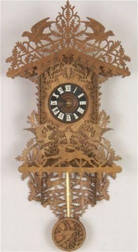 Black Forest Clock Plan Scrollsaw Pinterest Scroll Saw Scroll