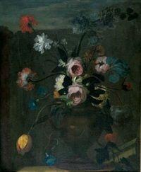 Blumen in einer Amphore di Franz Werner von Tamm