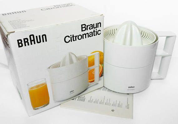 BRAUN CITROMATIC ELECTRIC Citrus Juicer