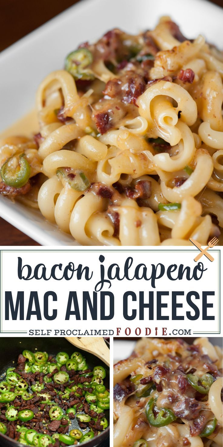 Bacon Jalepeno Mac And Cheese Has Just The Right Amount Of Heat