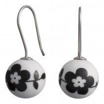 Andersen Finest Porcelain Hoop Earrings NATURE 399 073