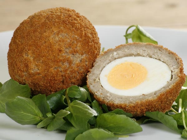 Have you ever tried Scotch eggs. As the name suggests Scotch eggs hail from Scotland.