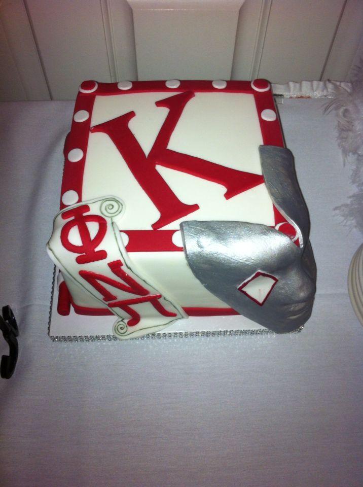 Kappa Alpha Psi cake by Sweets Nouveau.