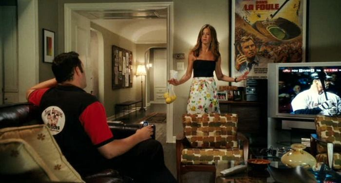 "Vince Vaughn and Jennifer Aniston in ""The Break-Up"" movie"