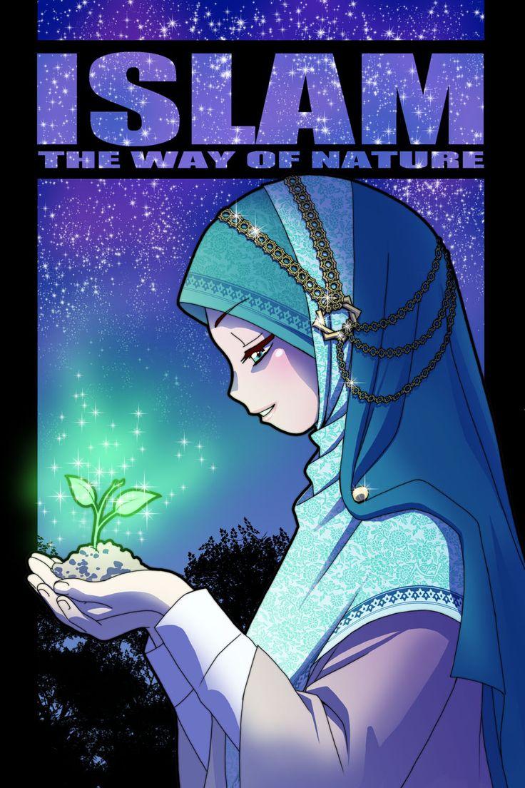 Islam, the way of nature by Nayzak.deviantart.com on @DeviantArt