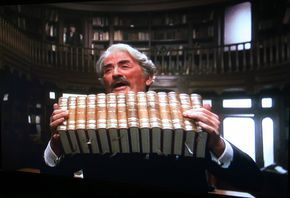 Gregory Peck in 'Old Gringo' (1989), based on the novel Gringo Viejo by Carlos Fuentes,