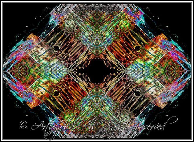 Crystallized lattice..by ©Artbyjolla