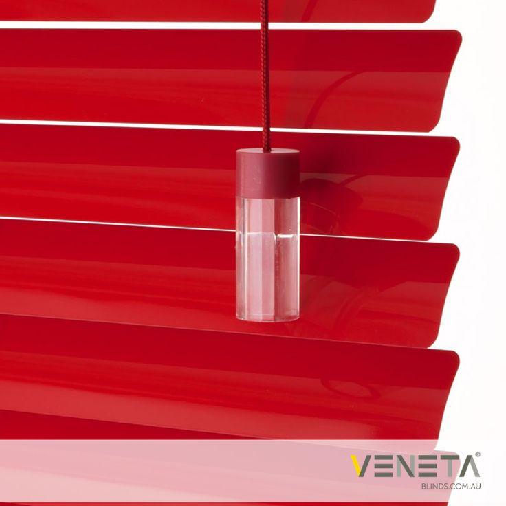 Veneta Blinds : Aluminium Blinds Colour : RED