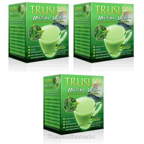 3xTRUSLEN PLUS Oligofructose Drinks Sugar Free Protein MATCHA Latte Green Tea  Price:US $36.99  http://www.ebay.com/itm/162086107090  #ebay #paypal #Thailandfantastic #TRUSLEN #TRUSLENPLUS #Oligofructose #Drinks #Sugar #Free #Protein #MATCHA #Latte #Green #Tea #GreenTea #Health #Vitamin  Thailandfantastic