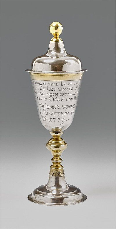 Breslau Cover cup - Art Auctionhouse Lempertz #silber #silver #lempertz #auctionhouse #art #decorativearts