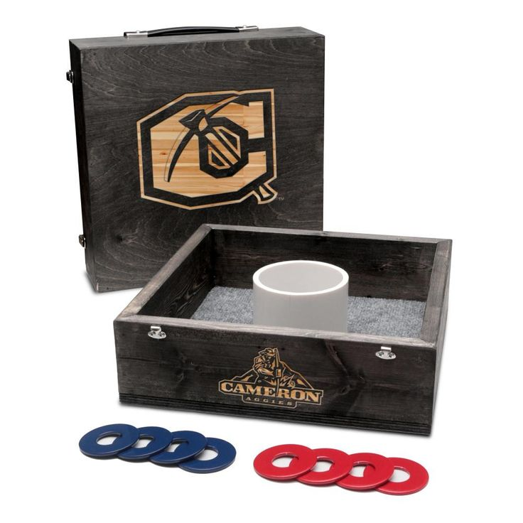Washer Toss Game - Cameron University Aggies