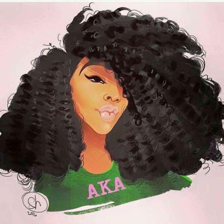 AKA Skee-Wee My Soror's .The Beauty Of Natural Hair Board