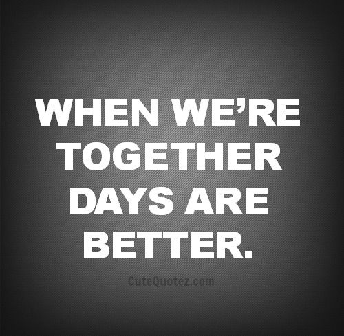 Love days spent together even just running errands preparing for the move. Looking forward to every day together. ❤️