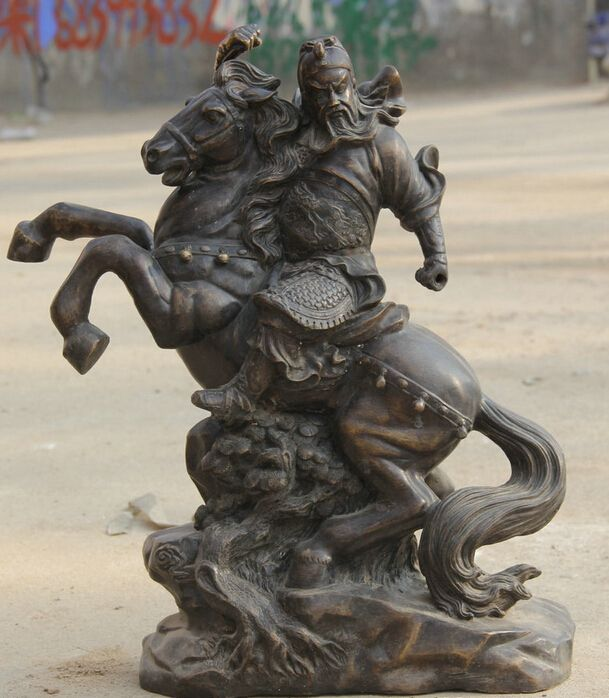 Best Guan Yu Images On Pinterest Guan Yu Chinese Culture And - China unveils colossal 1320 ton god of war statue