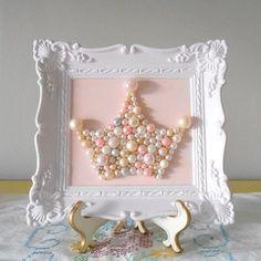 Pearl Princess Perfection. Great baby room accessory idea #love #babyroom