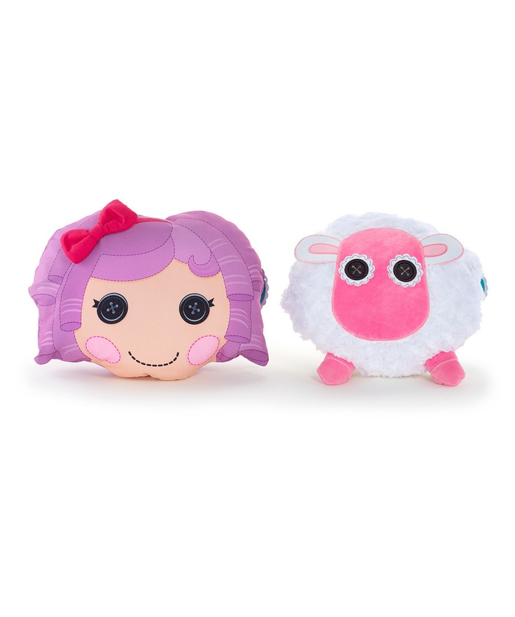 Lalaloopsy Featherbed/Sheep Reversible Pillow