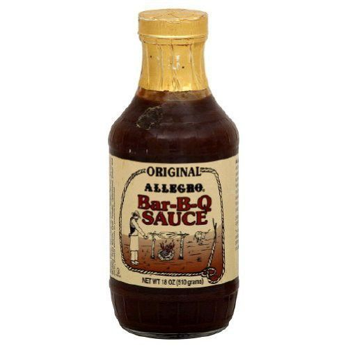 ALLEGRO Sauce, Barbecue Original, 18-Ounce (Pack of 3)