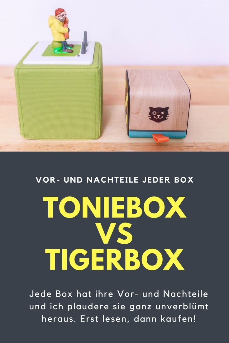 Toniebox vs. Tigerbox! Unbedingt erst lesen, dann kaufen ;-) | Kids ...