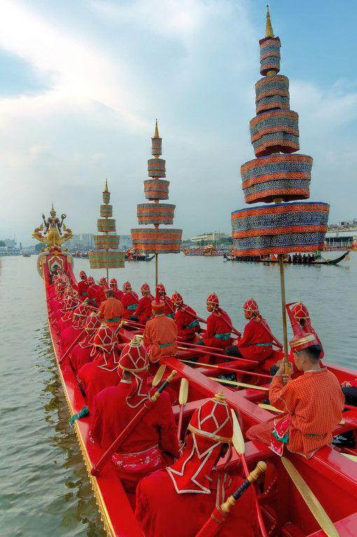 Royal Barge Procession Bangkok, Thailand