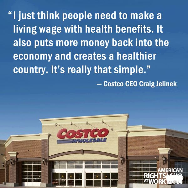 Yeah. Now that's true corporate for America. =) Good job Costco! We talked about these issues in my Corporate Ethics and Social Responsibility class.