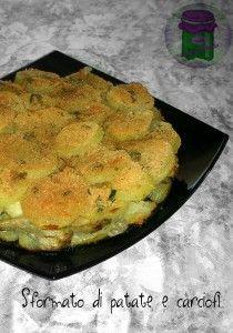 Sformato di patate e carciofi, cucina preDiletta