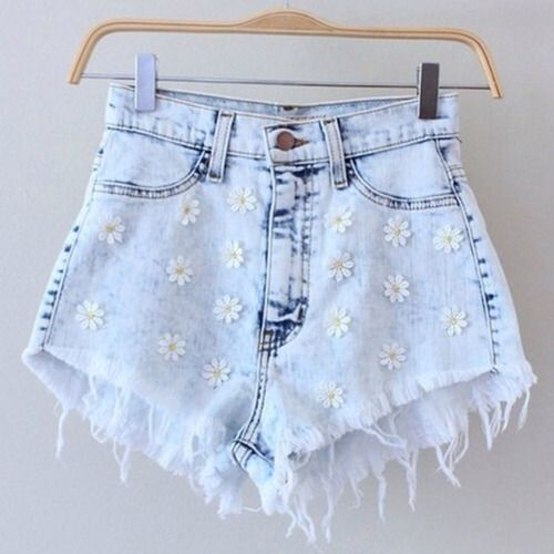 Short de margaritas, short de verano, summer short, outfit girl, fashion daisy www.PiensaenChic.com