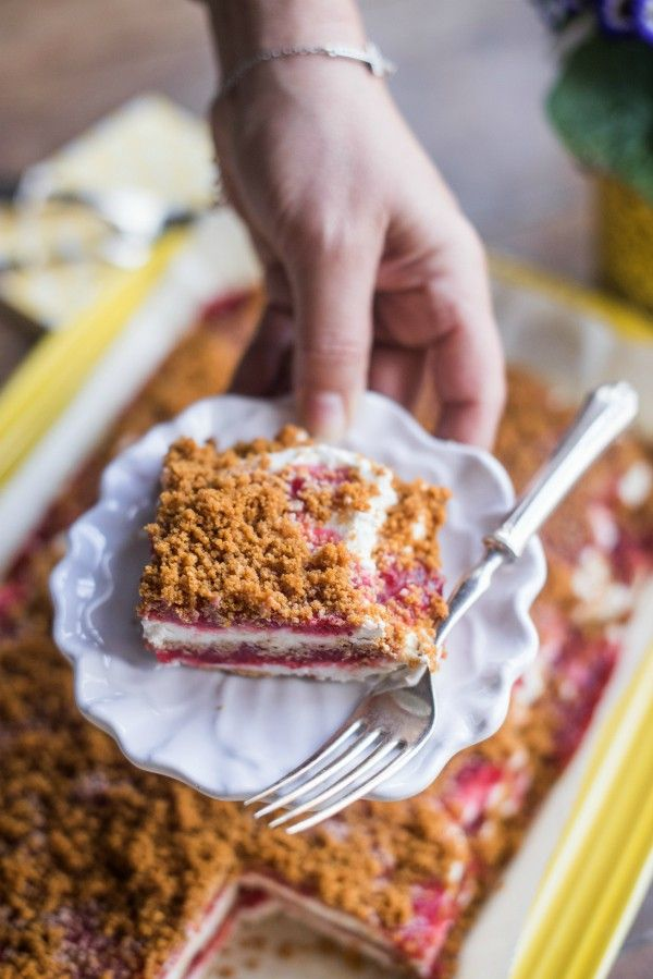 5-Ingredient Frozen Strawberry Royale Dessert