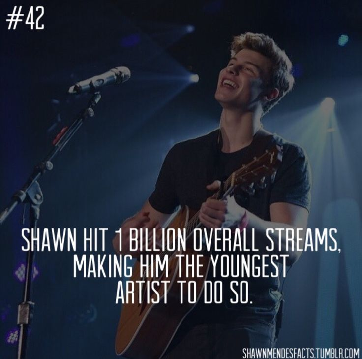 Shawn Mendes Facts : Photo
