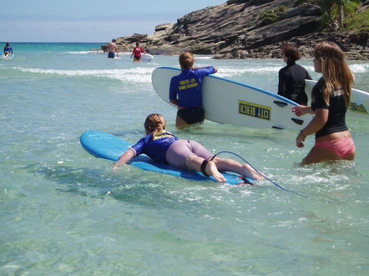 Learn to Surf on North Stradbroke Island. #Straddie #weloveStraddie