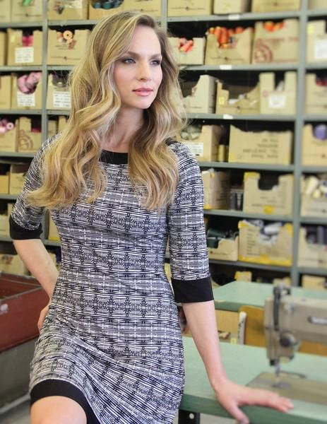 Papillon Blanc reversible dress.  Two dresses in one.  $165.00