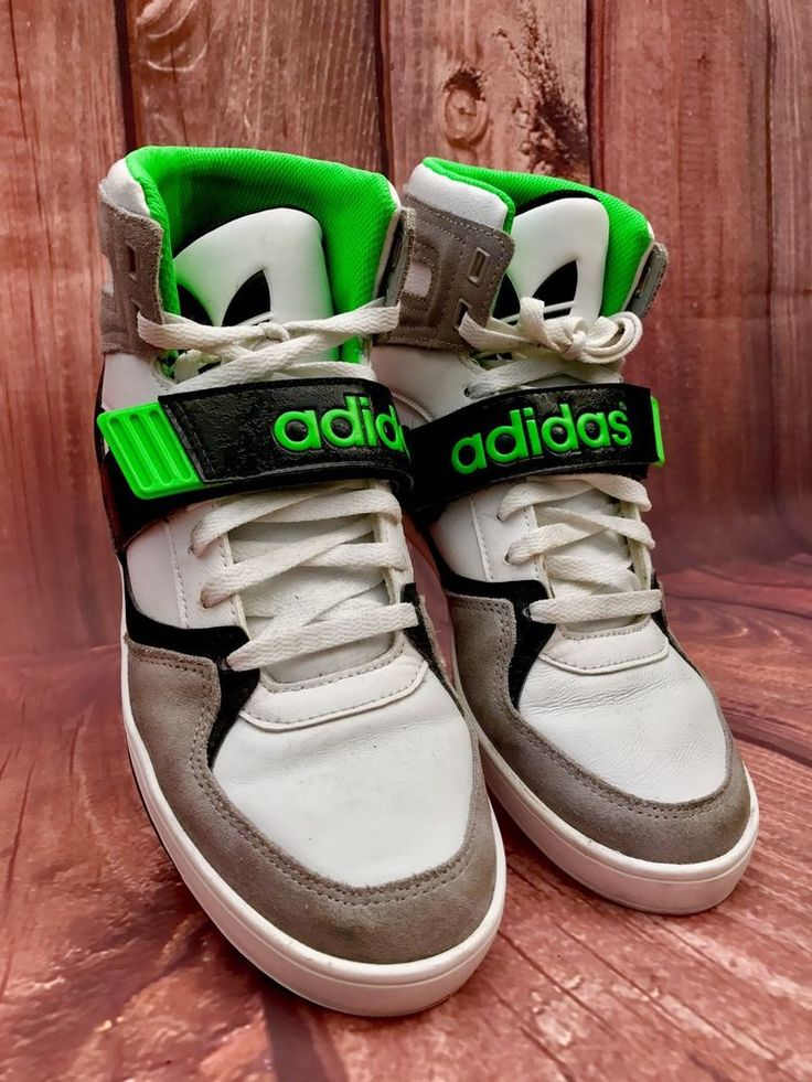 Adidas originals space diver 2.0 High Tops sneakers White Grey Black Green