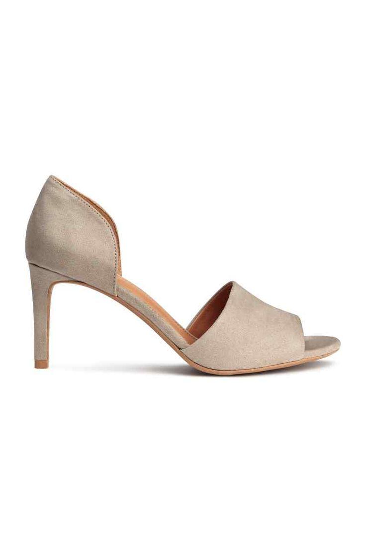 Sapatos de biqueira aberta | H&M