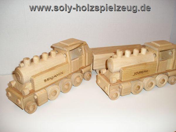 Spielzeug Kinder Zuge mit text gravur