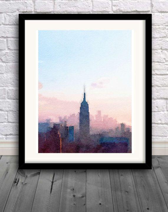 Best 25 City Skyline Art Ideas On Pinterest Nyc Skyline
