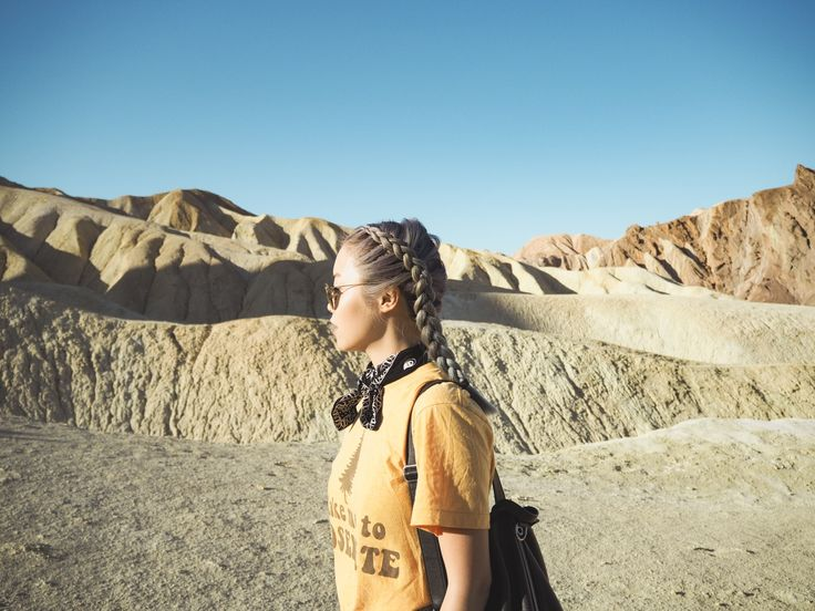 Braids and Badlands, Death Valley | http://www.lilianpang.com