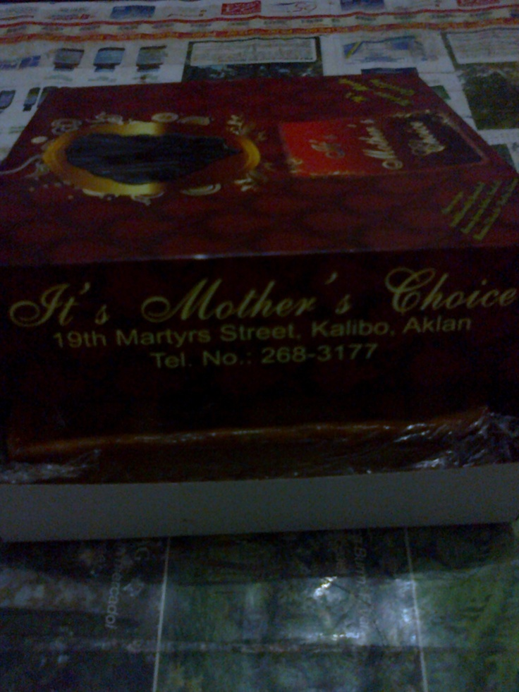 if you pass by kalibo please visit its'mother's choice