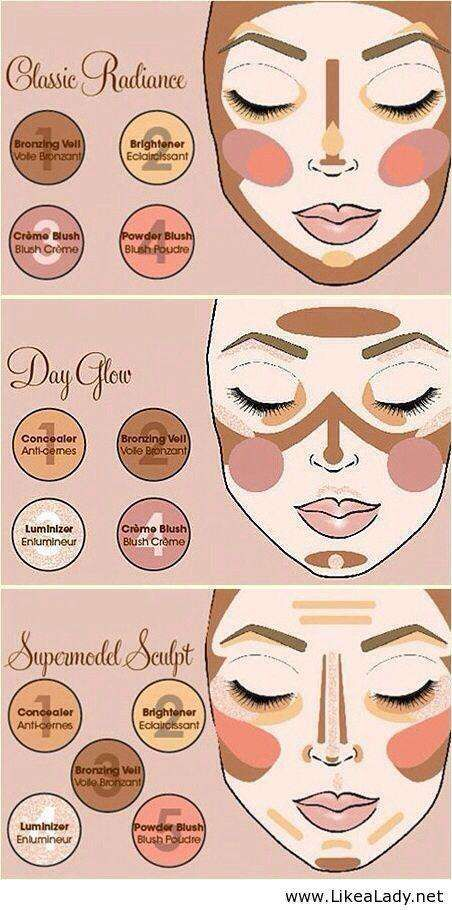 """The number of products you absolutely """"need"""" in your makeup arsenal is constantly growing with every new release from hundreds of brands, but what if you don't know what you're doing with the few starter products you already have? These infographics are your perfect guide to mastering your makeup, without needing anything new."""