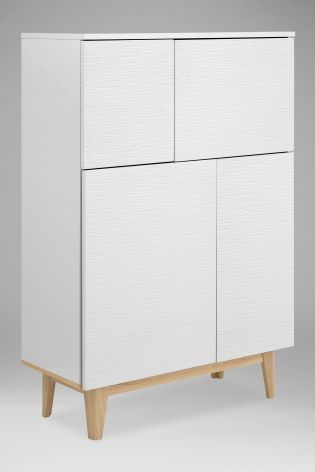 Buy Henry White Tall Cabinet from the Next UK online shop