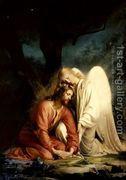 Christ at Gethsemane I  by Carl Heinrich Bloch