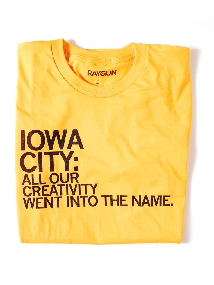 Iowa City Name