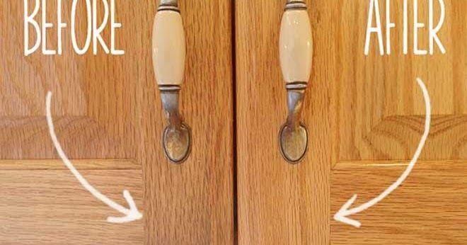 Κάντε τα ντουλάπια σας σαν καινούρια. Δείτε ΠΩΣ…