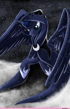 my little pony,Мой маленький пони,фэндомы,Princess Luna,принцесса Луна,royal,mlp art