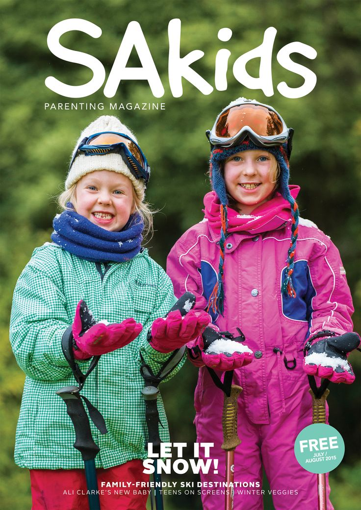 SA Kids Magazine | July/August 2015 issue cover
