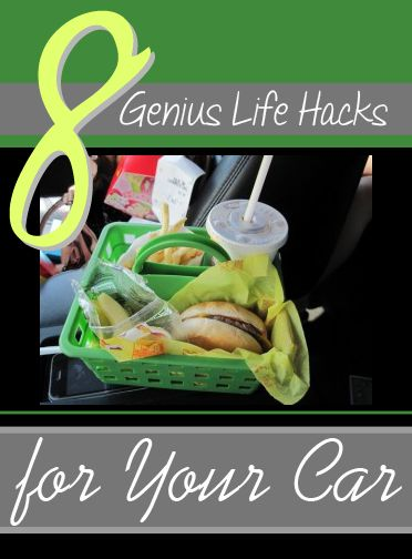 Clever ways to keep the car tidy!
