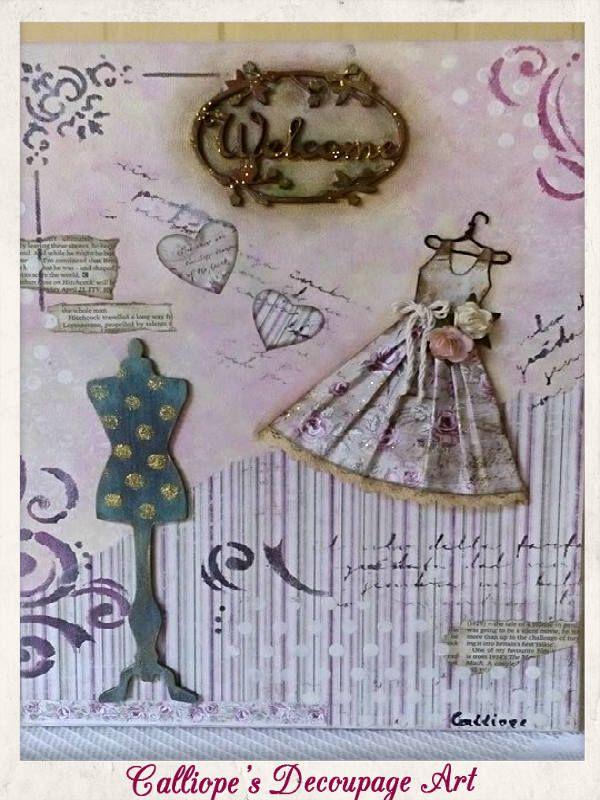 Κάδρα   Calliope's Decoupage Art
